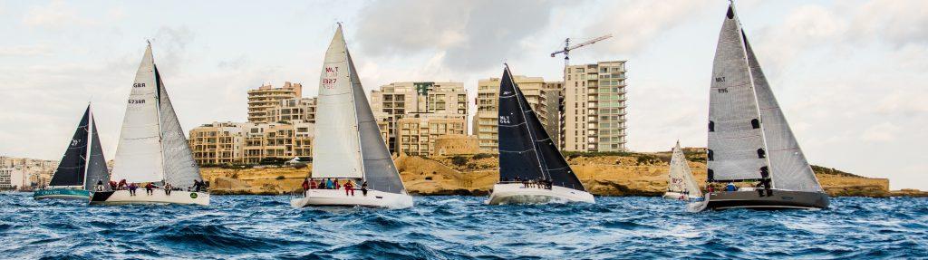medcomms round Malta race