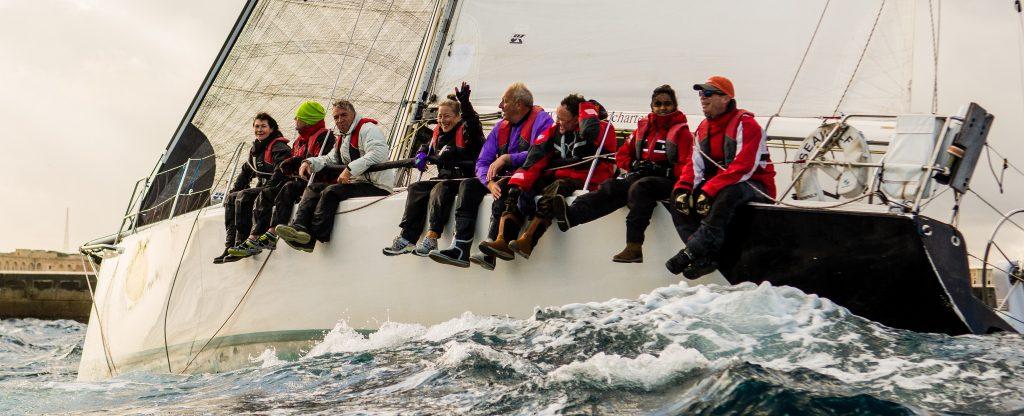 Seawolf round Malta race